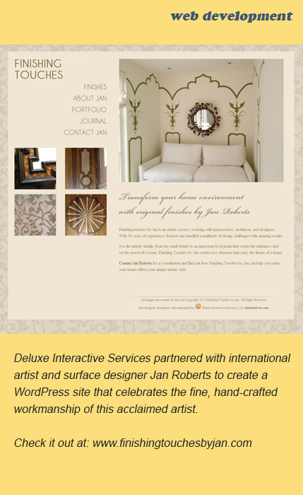 Click to visit the Finishing Touches by Jan website.