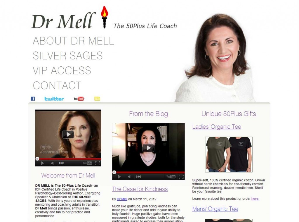 Dr Mell - The 50Plus Life Coach