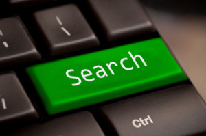 Image of a Search key on a computer keyboard